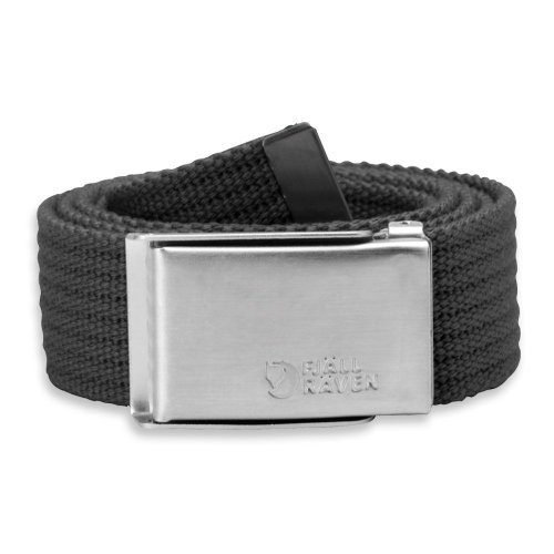 Fjällräven Gürtel Merano Canvas Belt dark grey