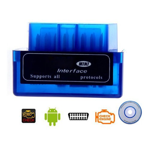 Toogoo(R) Mini V1.5 Elm327 Obd2 Bluetooth Interface Auto Car Scanner Diagnostic Tool For Android