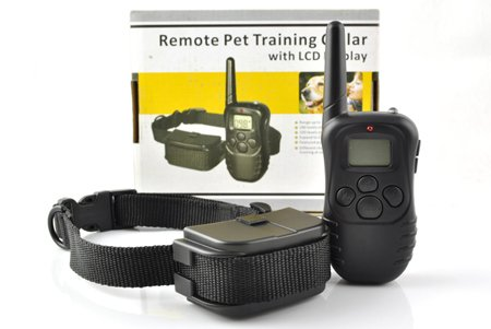 Atc Lcd Remote Shock Vibrate Dog Training Collar For 1 Dog