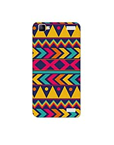vivo v1 max nkt02 (76) Mobile Case by Mott2-Cool Colorful Tribal Art Form (Limited Time Offers,Please Check the Details Below)
