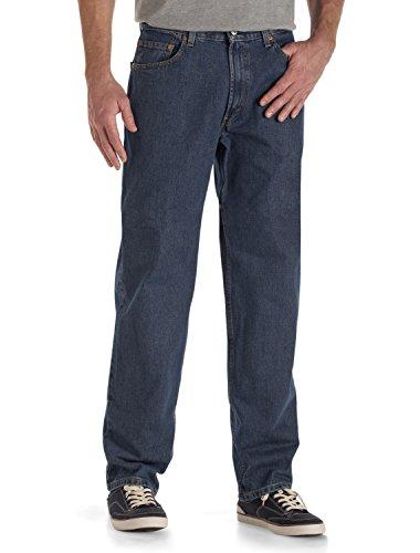Levi's Men's 550 Relaxed Fit Jean - Big & Tall, Dark Stonewash, 36x38