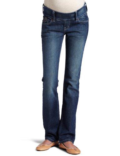Maternal America Women's Maternity Slim Fit Jeans