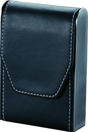 Bolivia Black Leather Cigarette Case
