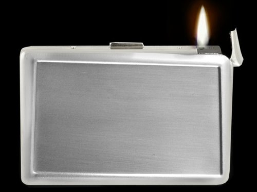Supreme 2 In 1 Cigarette Case With Built In Lighter (For Kings Size & 100'S) #85