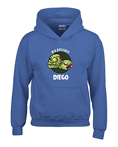 Halloween Costume Diego Big Brother Funny Boys Personalized Gift - Kids Hoodie Royal Kids XL
