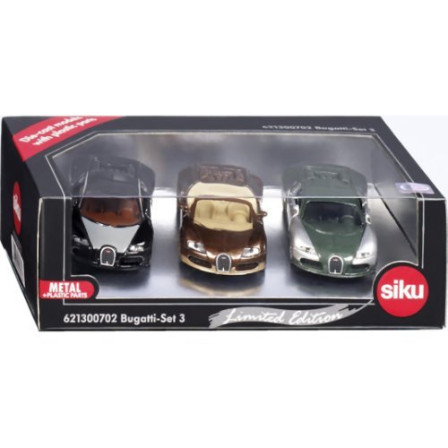 Die-Cast - Bugatti-Set 3 - Special Limited Edition Set - 6213C игрушка siku трактор siku 9 3 4см 1355
