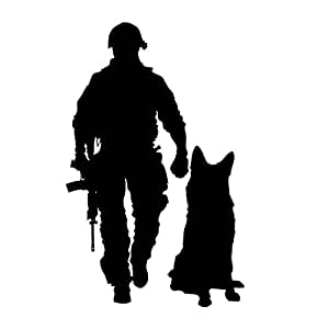 Amazon Com 6x4 Military Combat K9 Tactical Police Law