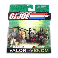 Picture of Brian's G.I. Joe: Valor vs. Venom Duke and Cobra Commander Figure (B000GKY82A) (G.I. Joe Action Figures)