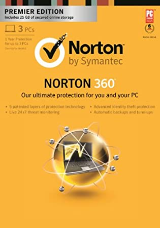 Norton 360 Premier 2013 - 1 User / 3 PC [Download]