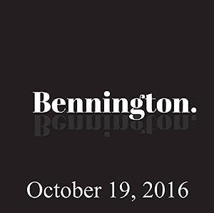 Bennington, Nick DiPaolo, October 19, 2016 Radio/TV Program