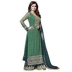 Shoponbit Cool Designer Embroidered Party Wear Salwar Suit
