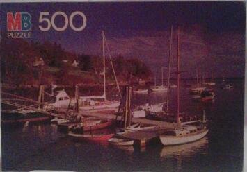 Rockport, Maine 500 Piece Croxley Puzzle (1986) by MB Puzzle - 1