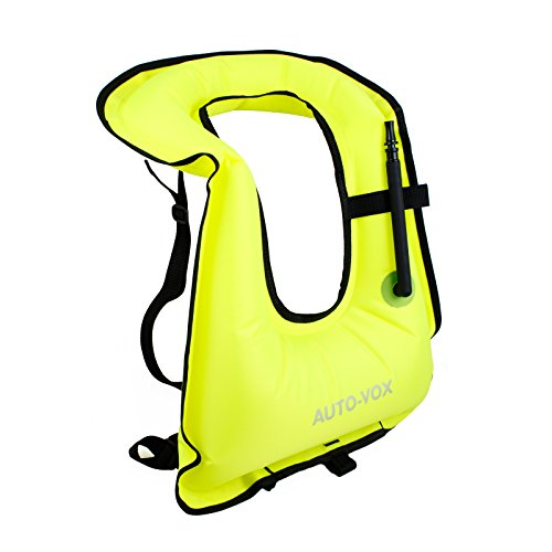 Green Adult Life Vest Snorkel or Freediving Snorkeling Vest / Dive Safety / Water Safety (Snorkeling Gear Vest compare prices)