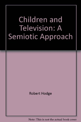 Children And Television: A Semiotic Approach front-14565