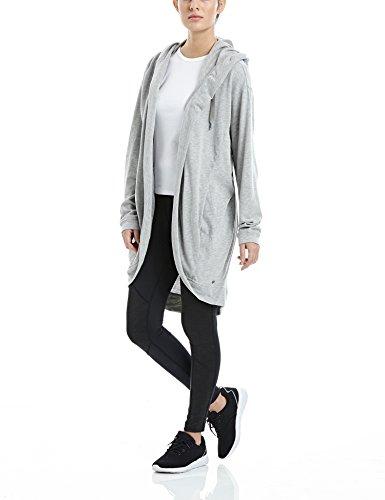 Bench giacca in maglia melancholist, Donna, MELANCHOLIST, Marna grigio scuro, S