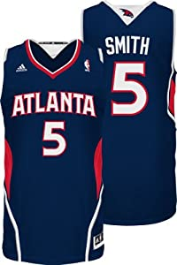 NBA Atlanta Hawks Navy Swingman Jersey Josh Smith #5 by adidas