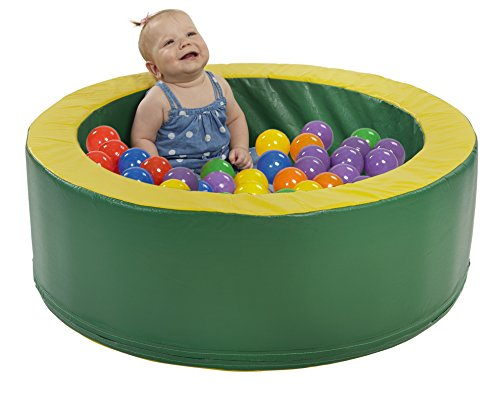 ECR4Kids SoftZone Mini-Nest Ball Pool Playset, Assorted - 1