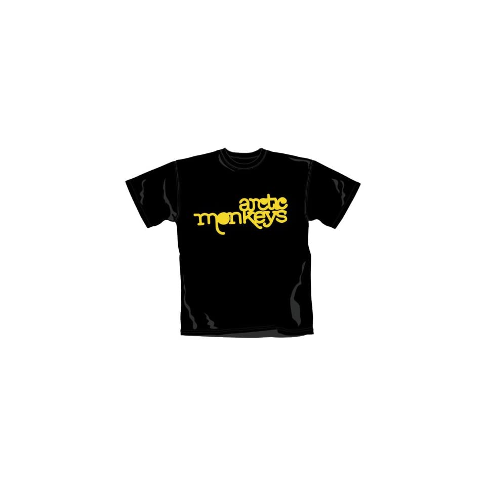YELLOW LOGO T Shirt Größe M Arctic Monkeys  Musik