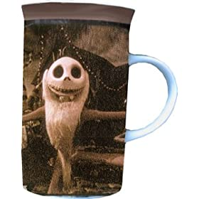 Nightmare Before Christmas Long Coffee Mug