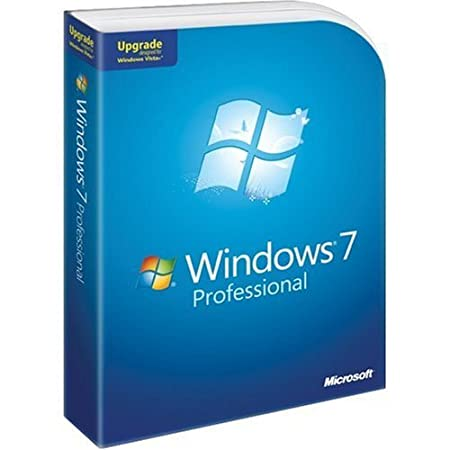 Microsoft Windows 7 Professional Upgrade