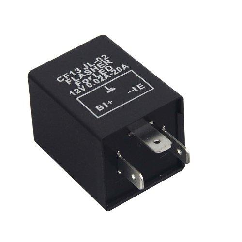 Car 3-Pin Electronic Led 12V Flasher Relay Fix For Turn Signal Blinker Light