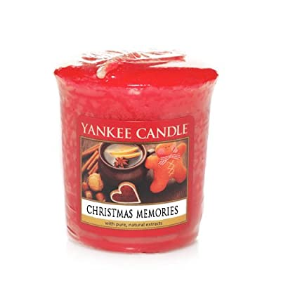 Yankee Candle Sampler Votive Candle, Christmas Memories from Yankee