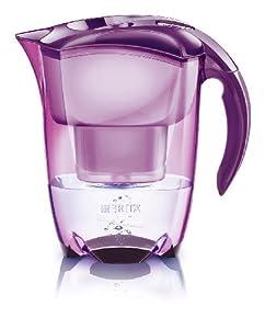 Brita Caraffa filtrante Elemaris Cool con Brita Meter, colore: Viola
