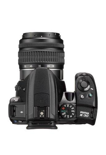 Pentax-K-30-Fotocamera-e-Obiettivo-DA-L-18-55mm-Sensore-CMOS-APS-C-da-1649-Megapixel-Display-LCD-da-3-Video-Full-HD-Nero