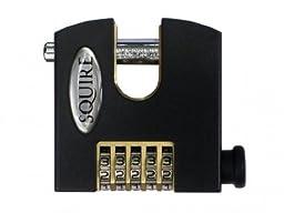 Squire Locks SHCB75 Stronghold Hi-Security Padlocks, Black