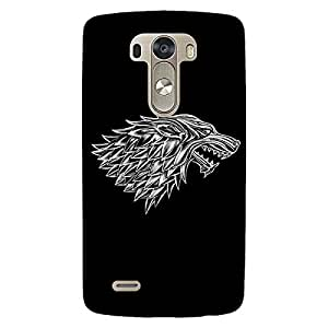 Jugaaduu Game Of Thrones GOT House Stark Back Cover Case For Lg G3 D855