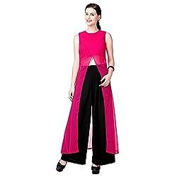 Eavan Women's Party Wear Crop kurtas Polyester Kurta