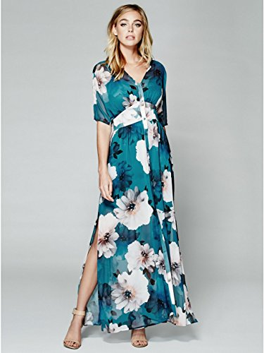 GUESS by Marciano Falling Floral Maxi Dress