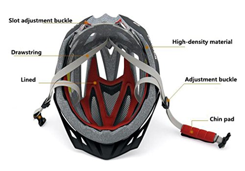 Rainbow flower Men and women riding helmet bicycle helmet mountain bike helmet forming one road