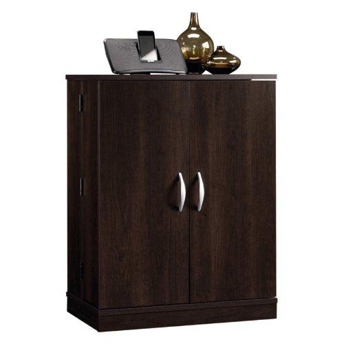 Image of Sauder Beginnings Multimedia Storage Cabinet - Cinnamon Cherry (B00983B8RY)