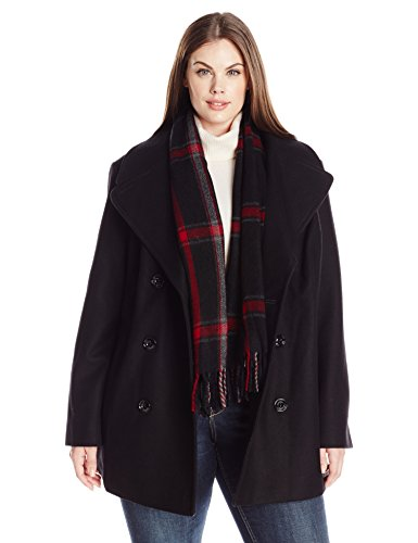 london-fog-womens-plus-size-double-breasted-peacoat-with-scarf-black-1x