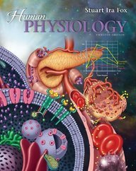 Human Physiology 12th Edition By Fox, Stuart Ira [Hardcover]