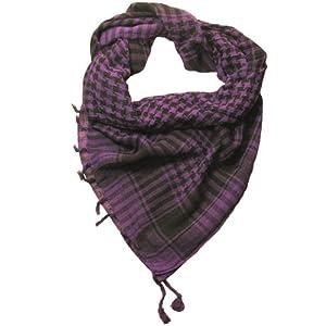 Purple Desert Scarf  Try these trendy desert scarves  Shemagh  Keffiyeh