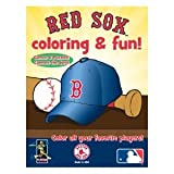 Hawk's Nest Publishing MLB Boston Red Sox Coloring Book