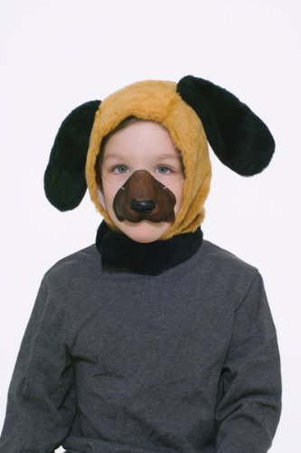 Forum Novelties Child Size Animal Costume Set, Dog Hood and Nose Mask