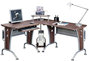 Piranha Pc21w Large Corner Computer Desk Amazon Co Uk