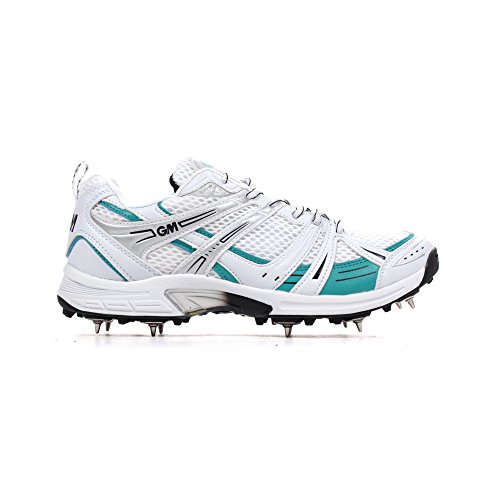 gunn-moore-six6-junior-chaussures-pour-enfants-multi-fonction-cricket-a-crampons-blanc-unisexe-enfan