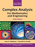img - for Complex Analysis For Mathematics And Engineering, by John H Mathews Russell W Howell (2011-08-02) book / textbook / text book