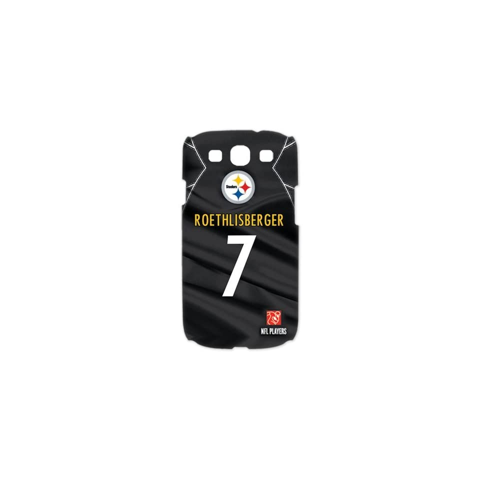 Treasure Design NFL Pittsburgh Steelers Star Ben Roethlisberger # 7 Samsung Galaxy S3 I9300 3d Best Durable Case  Sports Fan Cell Phone Accessories  Sports & Outdoors