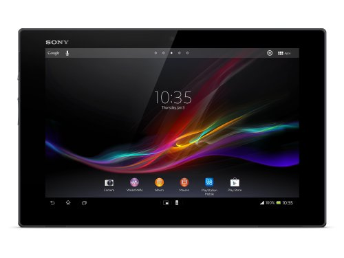 Sony Xperia Tablet Z  SGP312  25,7 cm (10,1 Zoll) Tablet-PC (Qualcomm Snapdragon S4 Pro, Cortex A9, Quad Core, 1,5GHz, 2GB RAM, 32GB HDD, Android OS 4) schwarz
