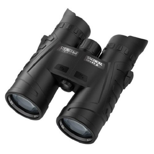 Steiner 6508 10X 42Mm R Tactical Binocular, Black