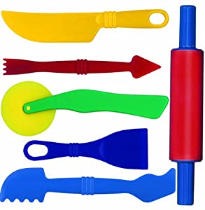 Gowi 185-15 - Knetwerkzeug - Set 6