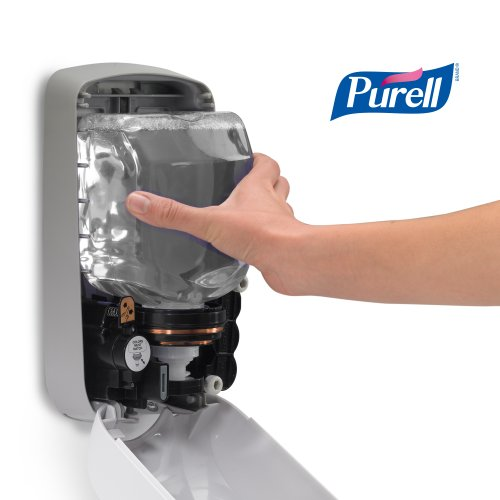 purell tfx dispenser instructions