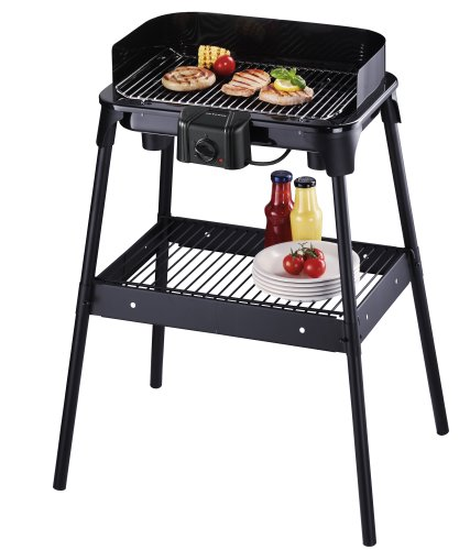Severin PG 2792 Barbecue-Elektrogrill schwarz