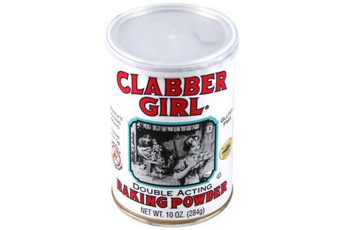 Clabber Girl Double Acting Baking Powder 10oz