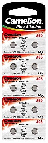 CAMELION pile aG 5/lR48/393/lR754 avec mn 22,5 v/1,5/53 mAh